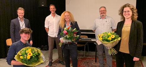 foto bestuur bij COC Midden-Nederland