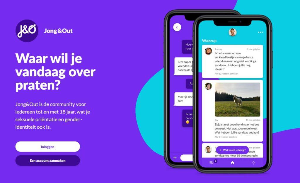 JO website bij COC Midden-Nederland