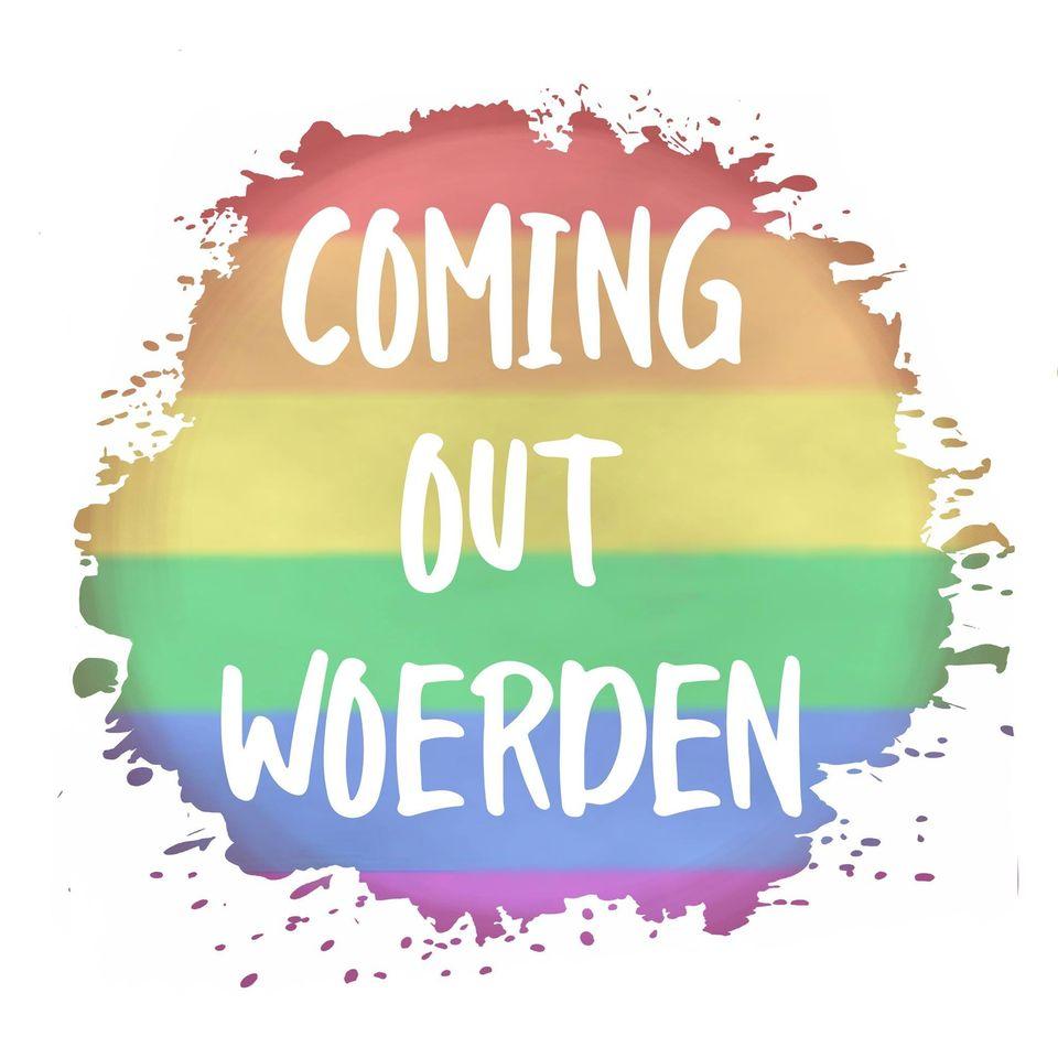 coming out woerden logo bij COC Midden-Nederland