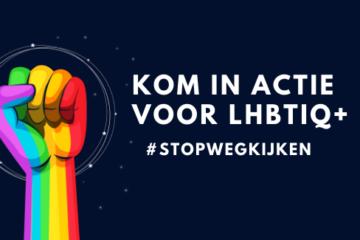 KOM IN ACTIE VOOR LHBTIQ bij COC Midden-Nederland