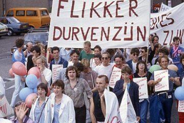 Roze Zaterdag 1982 in Amersfoort