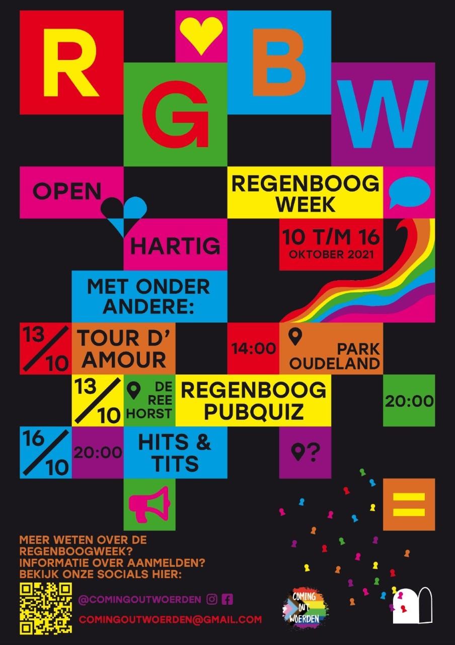 Regenboogweek bij COC Midden-Nederland